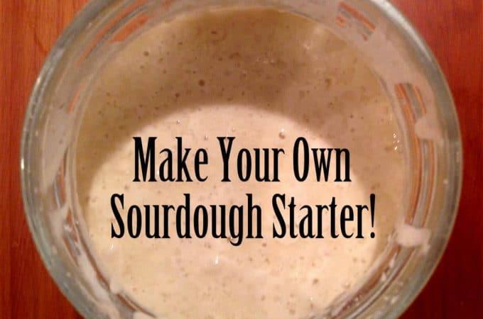 How to Make Sourdough Starter