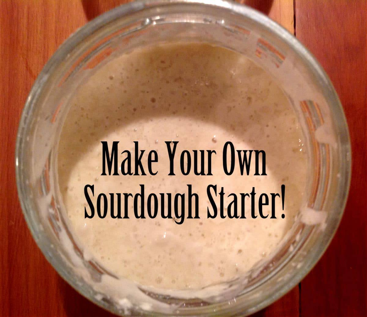 How To Make A Two Story Living Room Cozy: How To Make Sourdough Starter