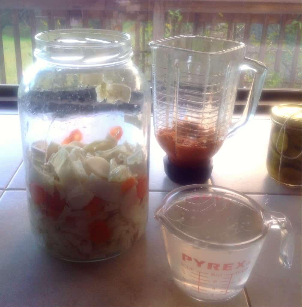 kimchi process
