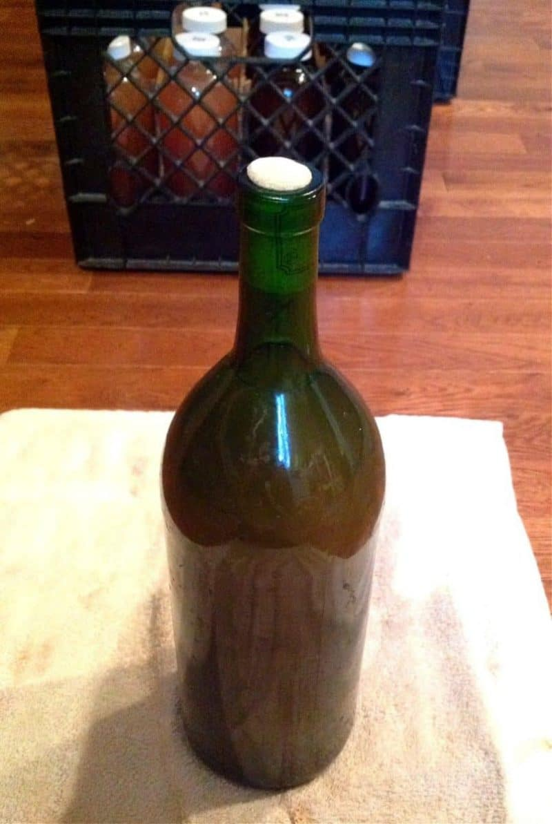 how to bottle wine