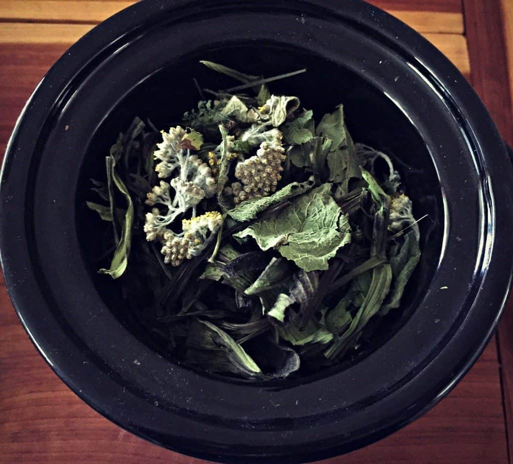 make herb oil