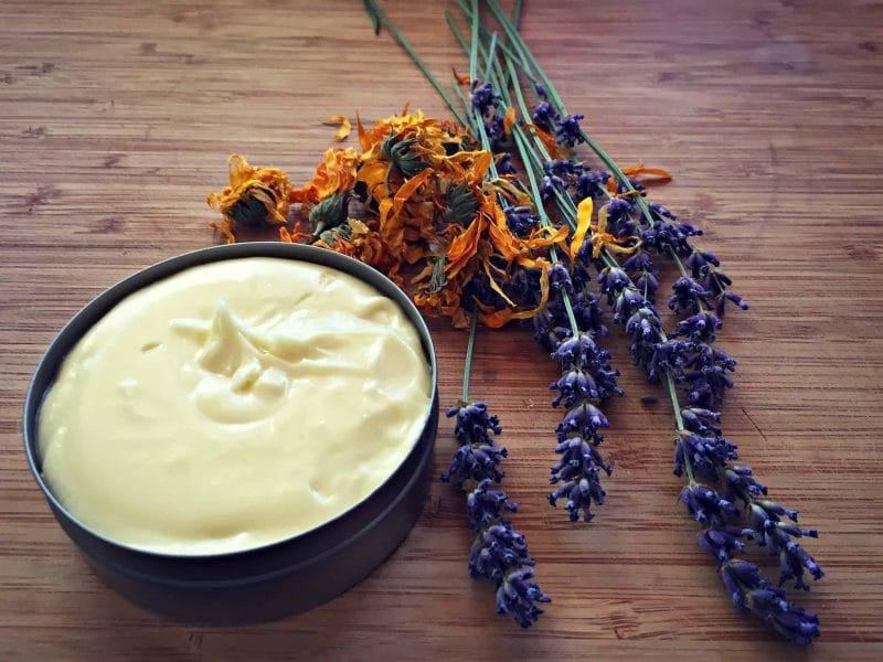 homemade calendula cream