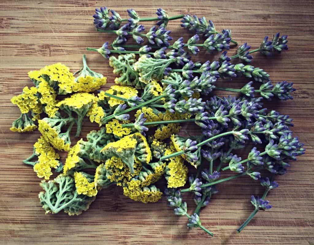 chop wildflowers