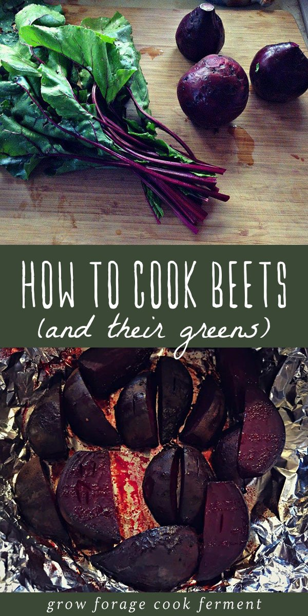 Roasted beets are a versatile seasonal vegetable that you can enjoy in many ways. In this post I show you how to prepare and roast beets, as well as a recipe for cooking beet greens! #beets #realfood