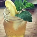 lemon balm green tea