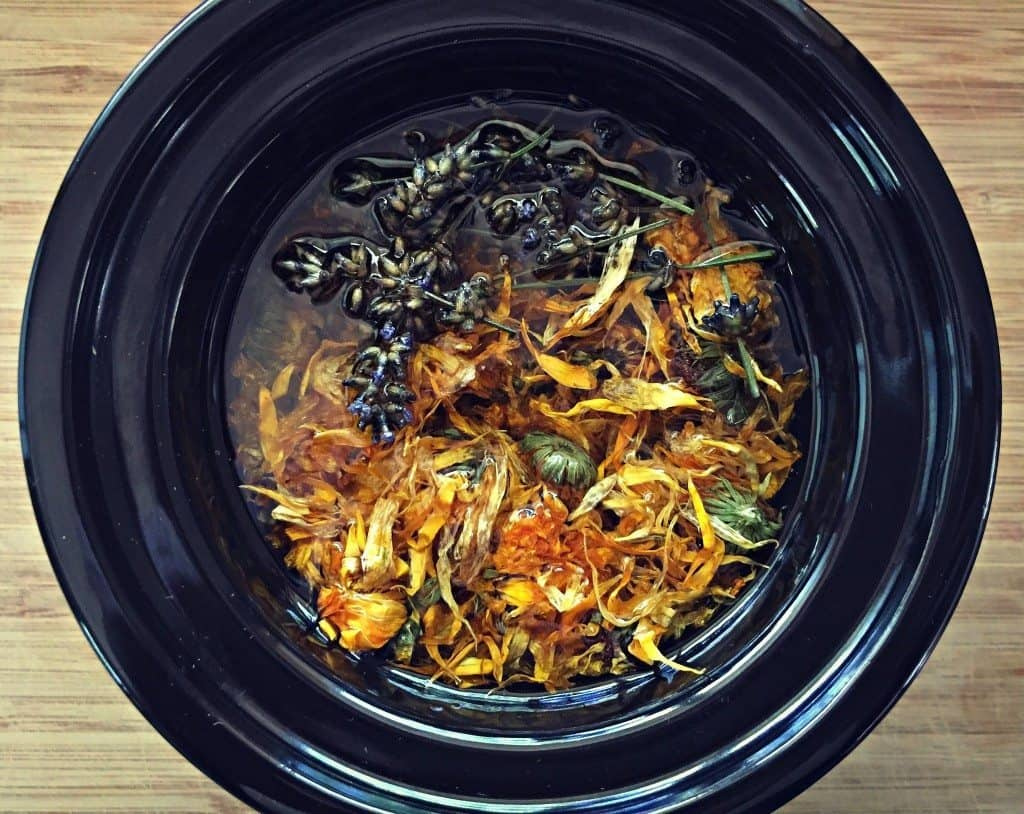 make calendula infused oil