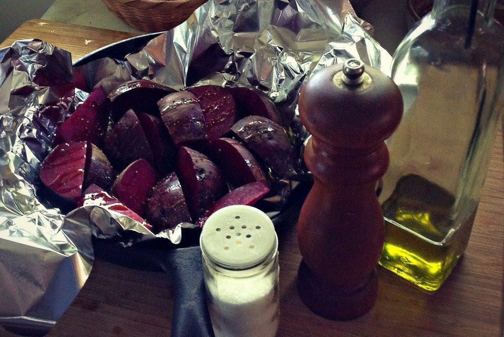 put beets in foil