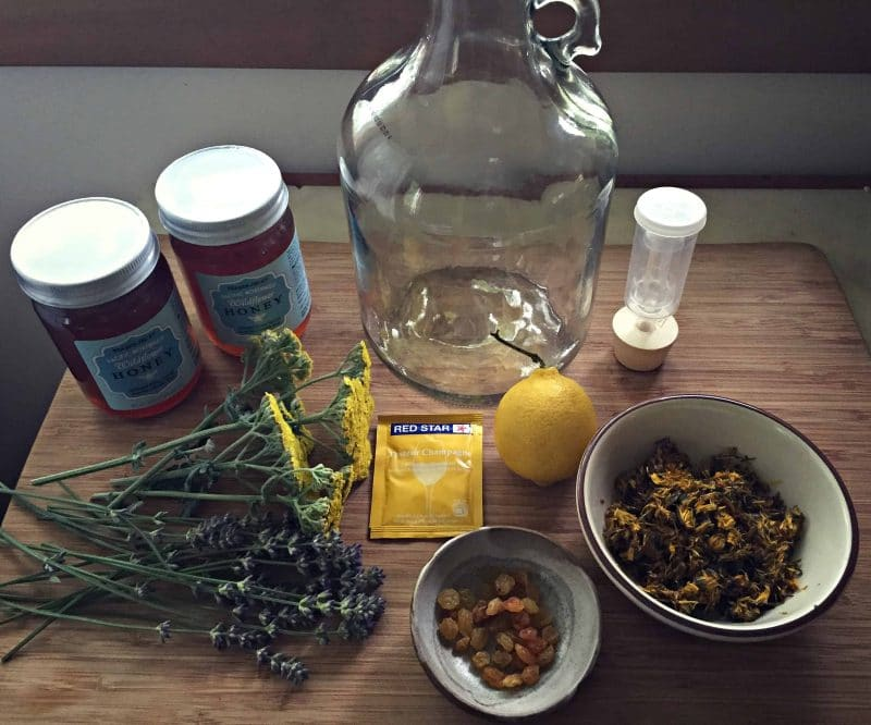 wildflower mead ingredients