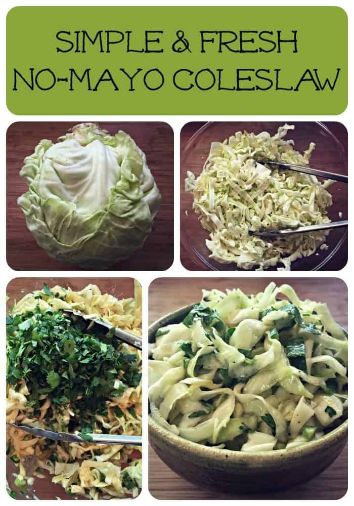 coleslaw collage