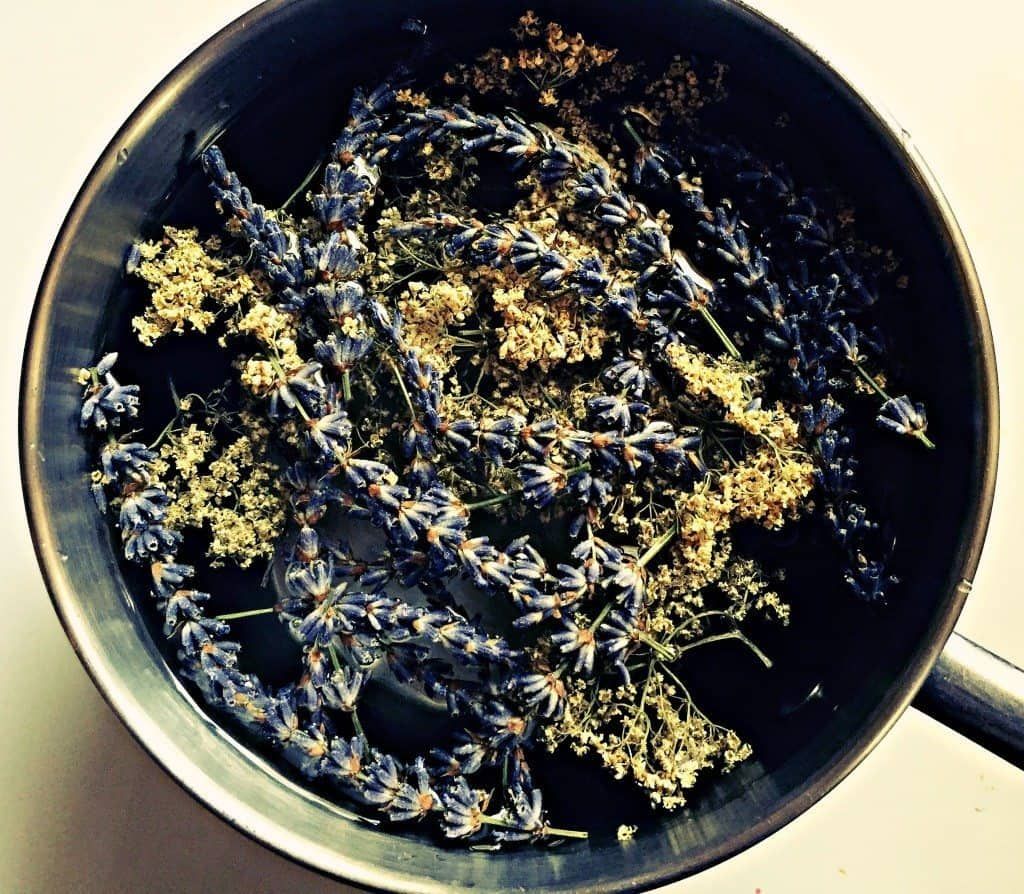 lavender and elderflower tea