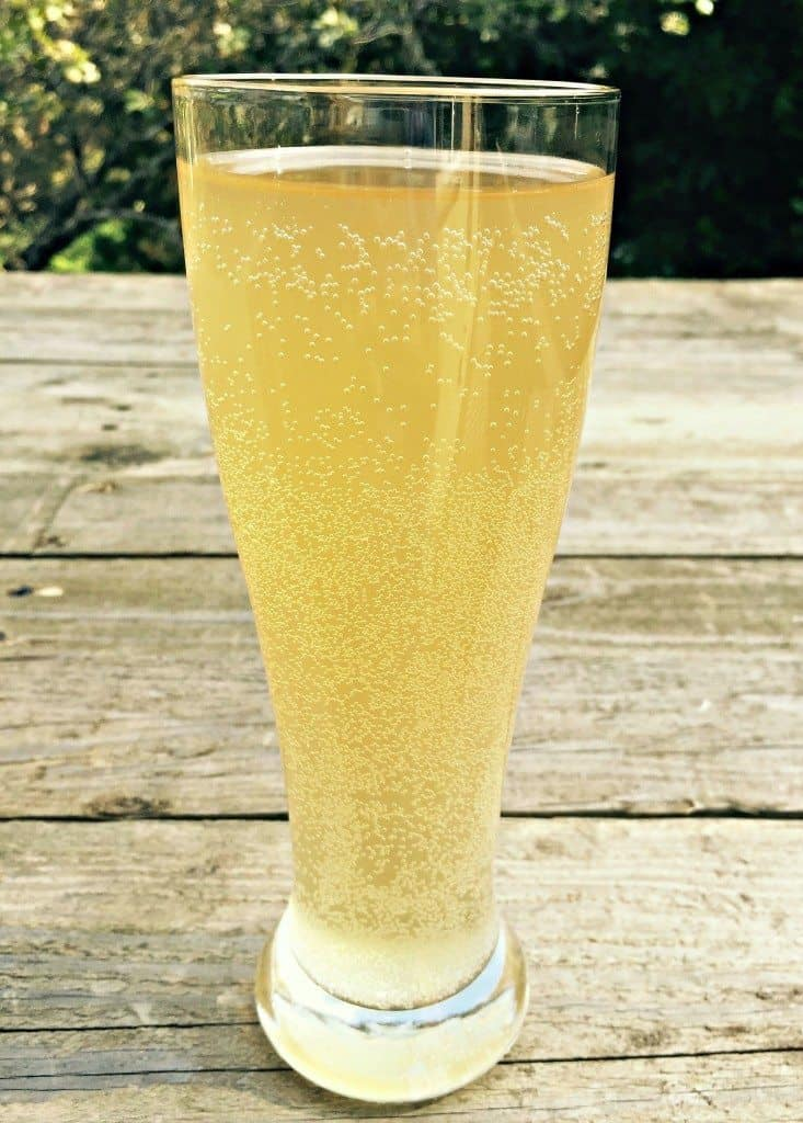 lavender elderflower soda