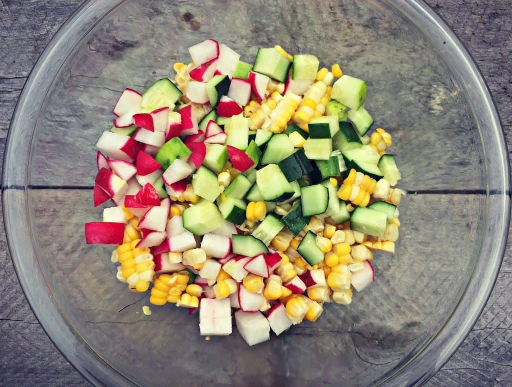 mix veggies