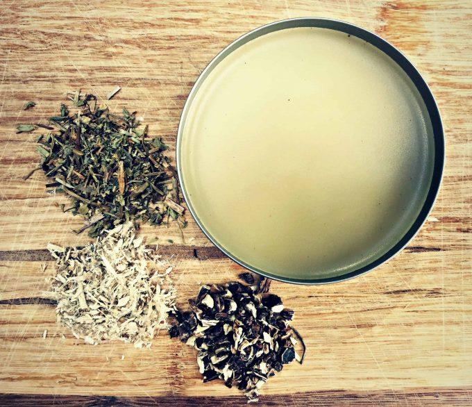 homemade herbal diaper rash salve