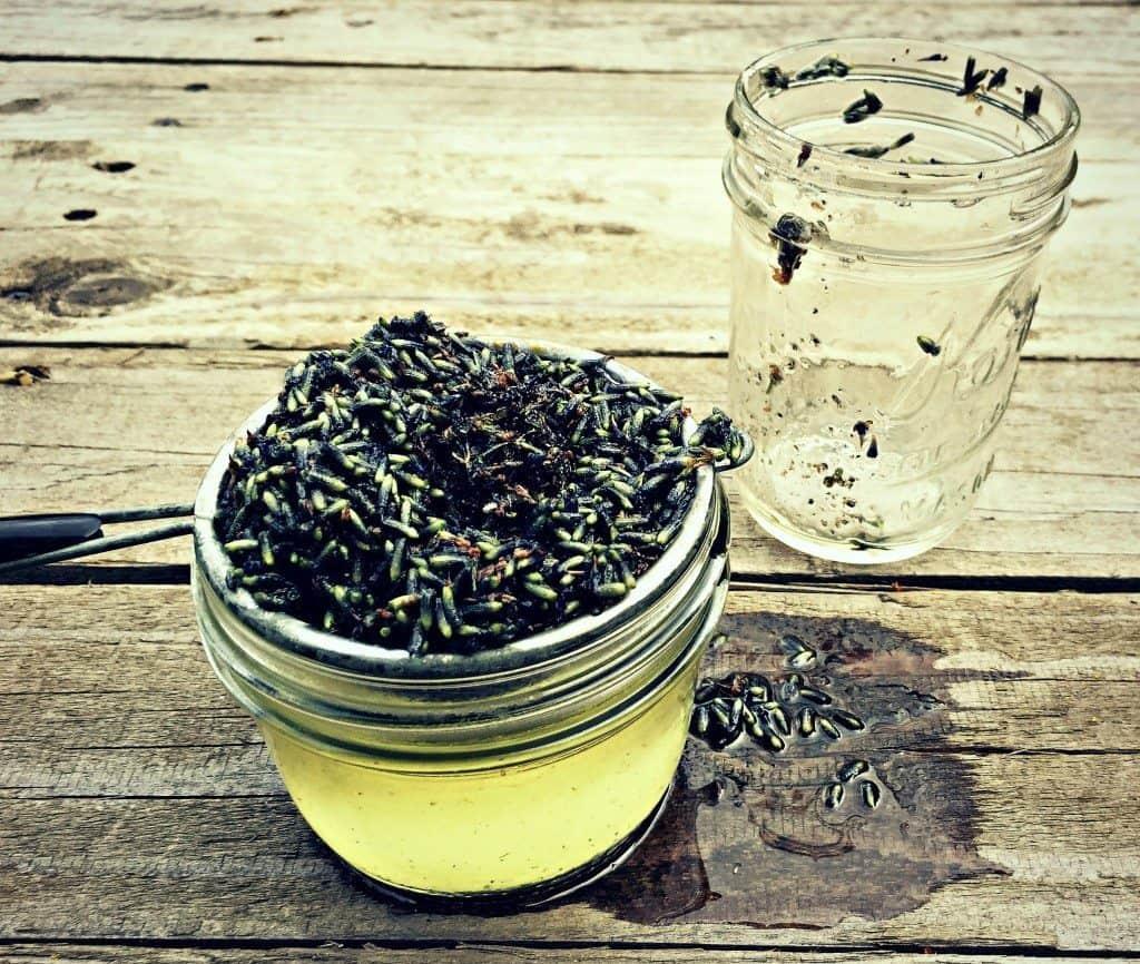 strain herbal oil