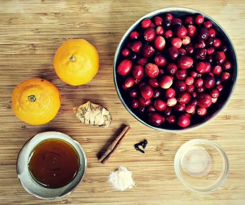 fermented cranberries ingredients
