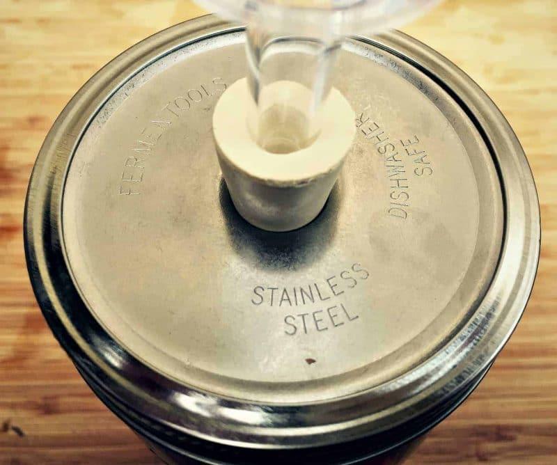 stainless steel fermentools lid