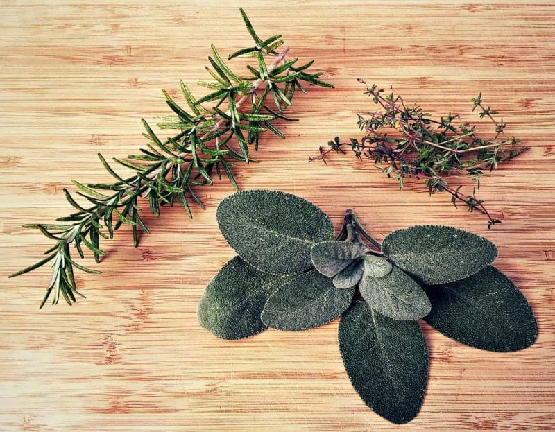 sage rosemary thyme