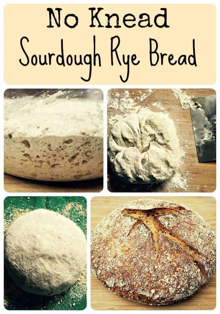 No Knead Sourdough Rye Bread Recipe