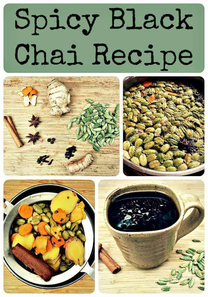 Spicy Black Chai Recipe
