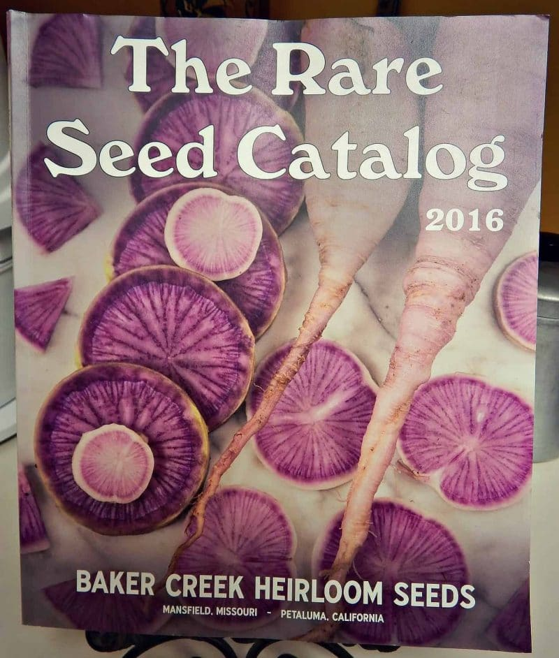 baker creek seed catalog