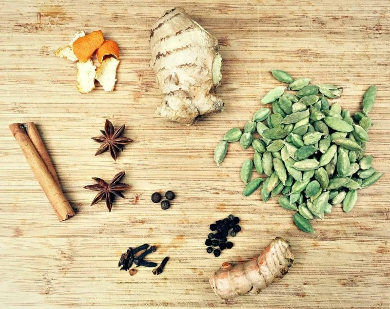 chai tea ingredients