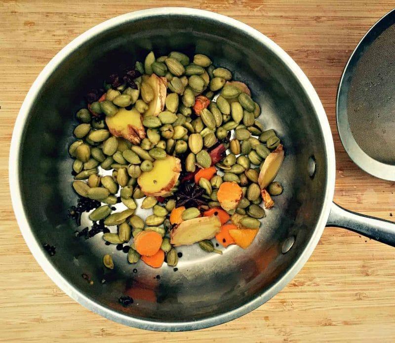 reboil chai spices