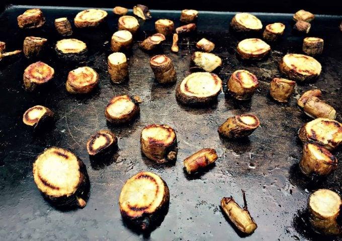 roasted burdock root