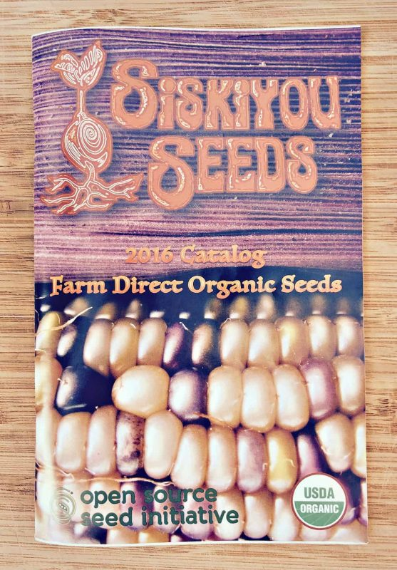 siskiyou seed catalog