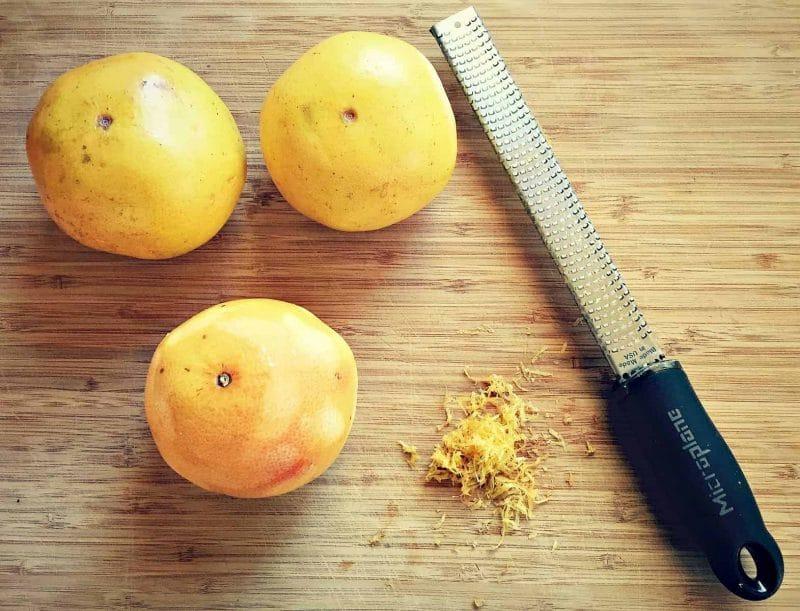 zest grapefruit
