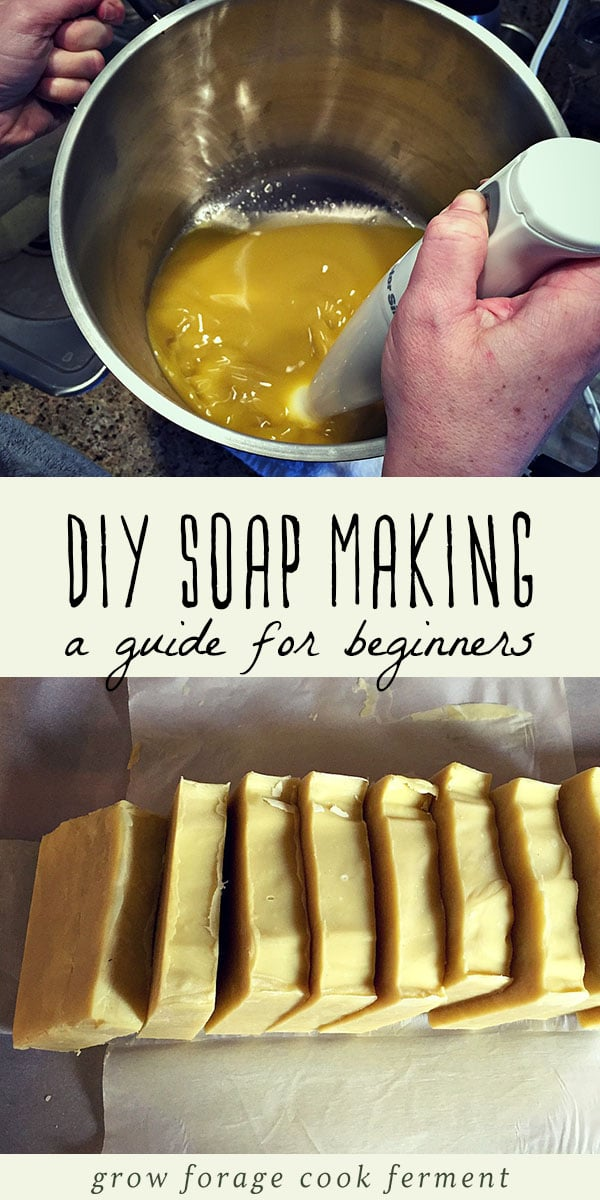 Learn how to make your own homemade all natural soap using this easy DIY recipe and tutorial. I'll take you through the process step by step. Let's learn how to make soap! #allnatural #soap