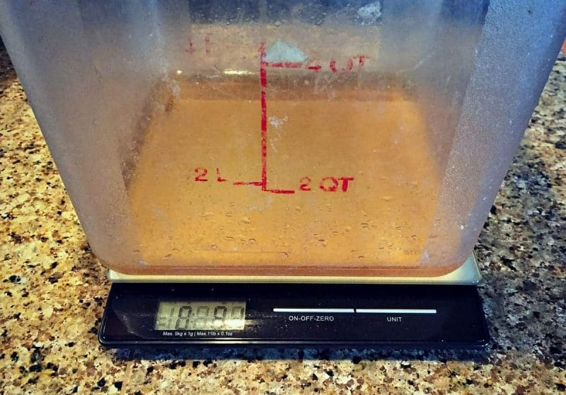 measure liquid for soap