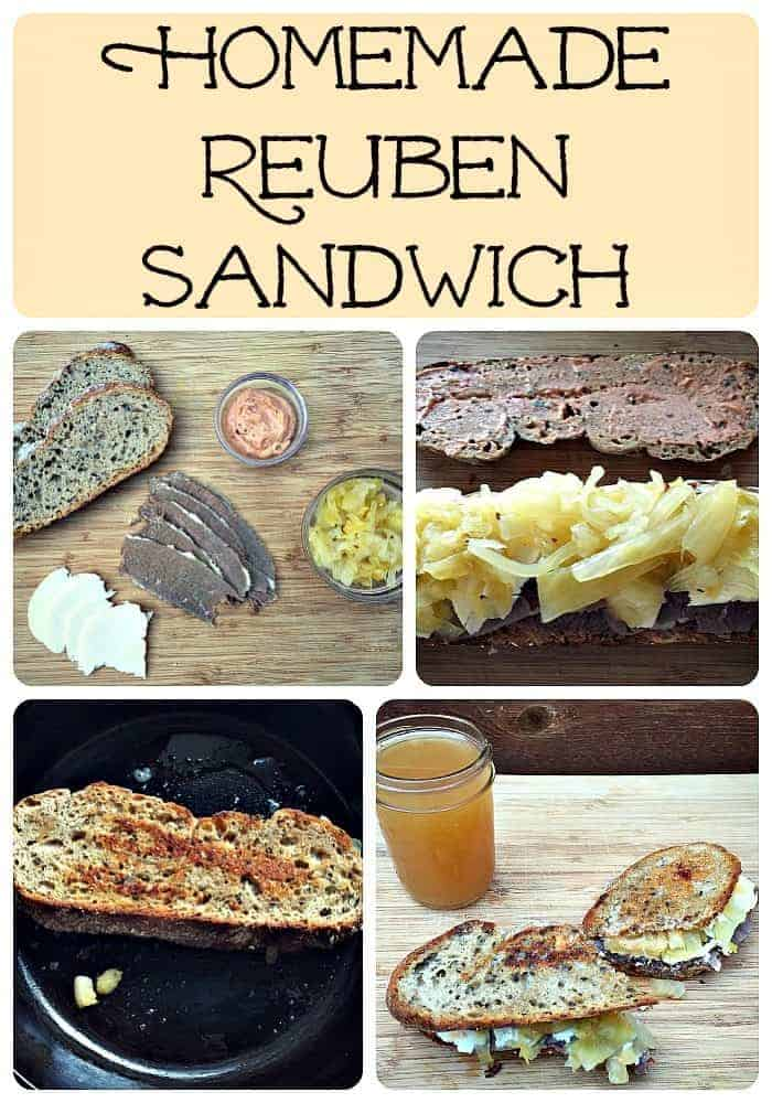 How to Make a Totally Homemade Reuben Sandwich