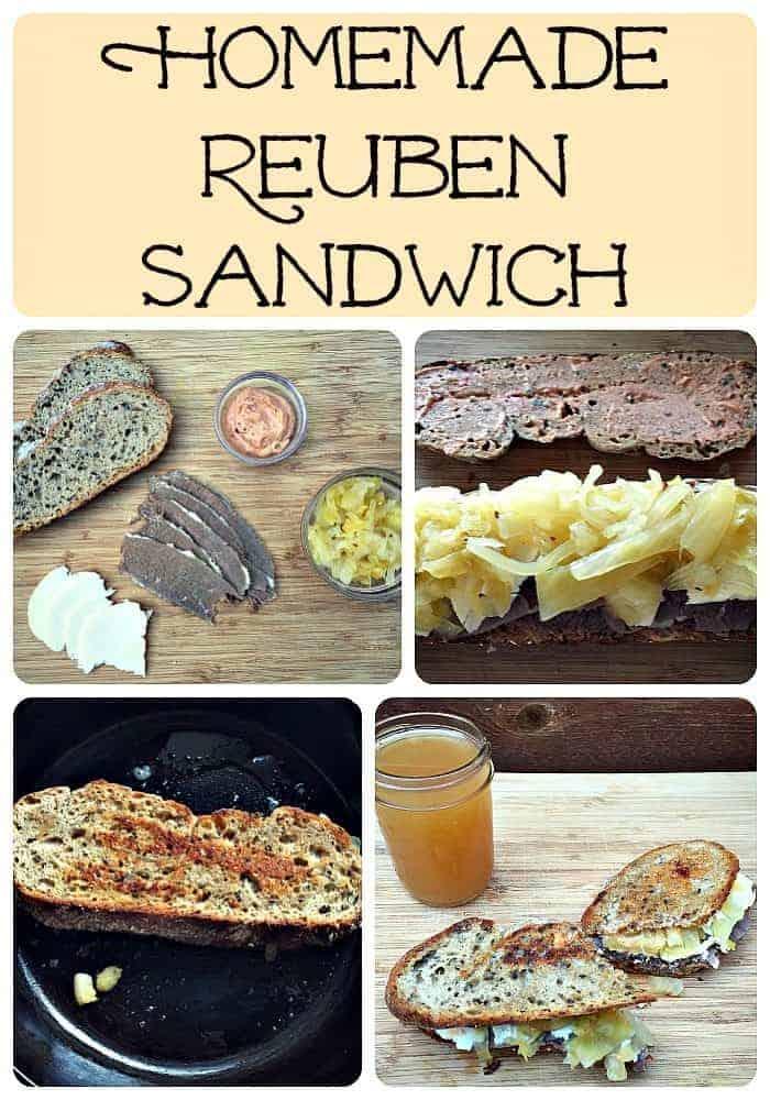 How to Make a Totally Homemade Reuben Sandwich