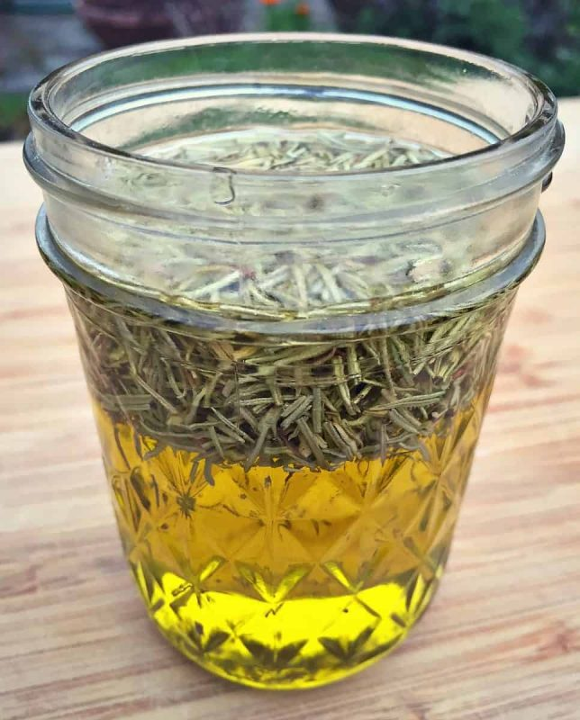 infused rosemary oil