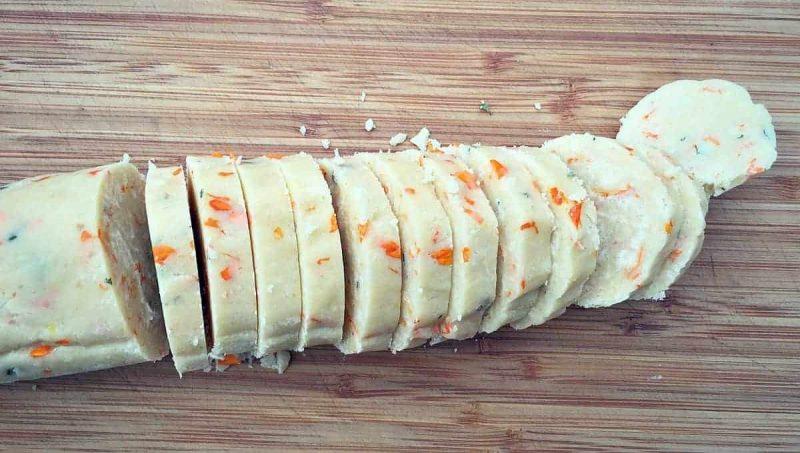 slice dough log