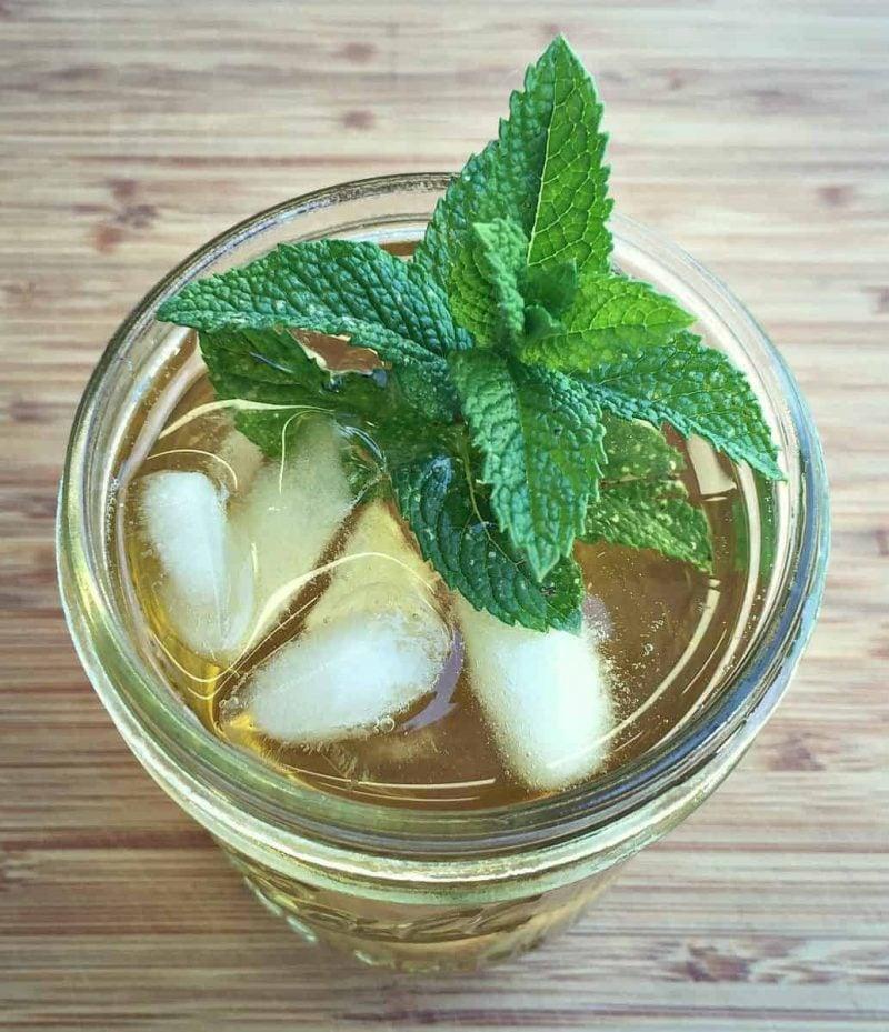 mint iced tea 2