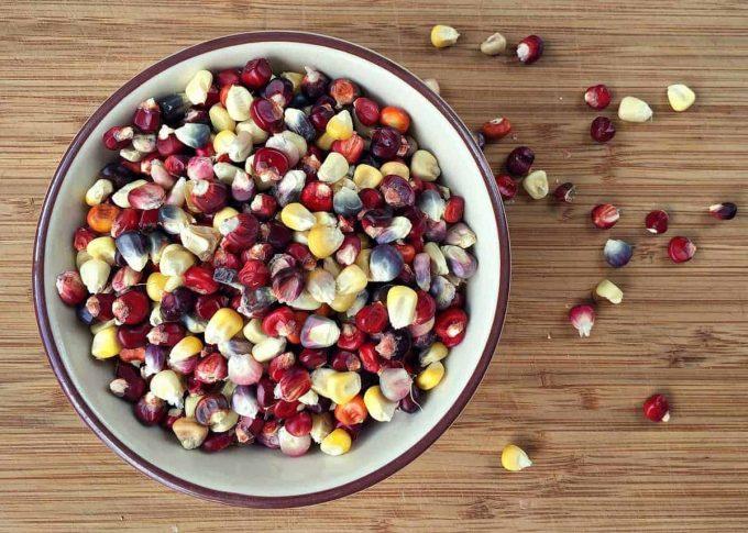 blueberry flour corn