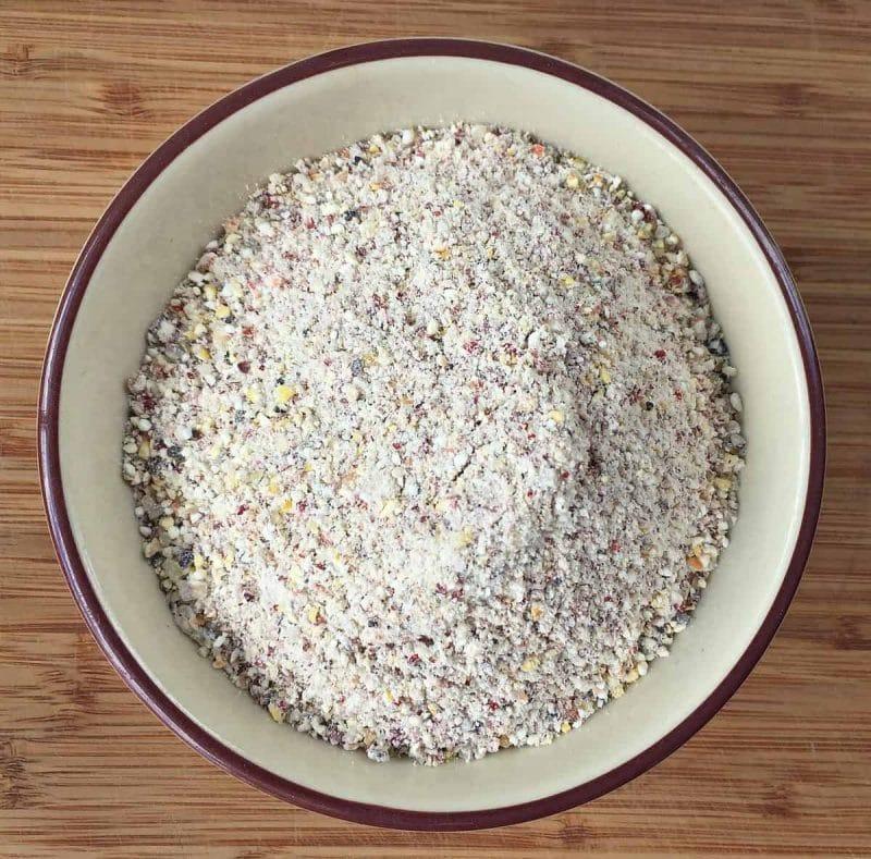 blueberry ground corn flour