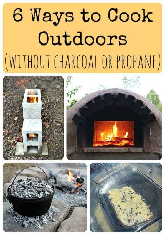6 Ways to Cook Outdoors