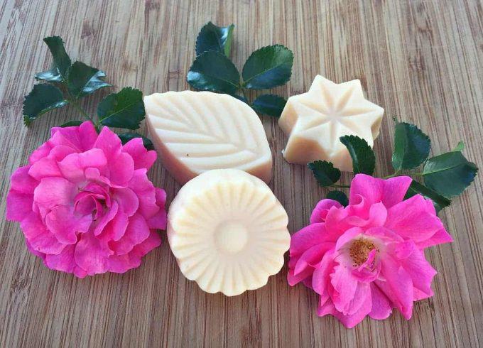 fresh rose lotion bars