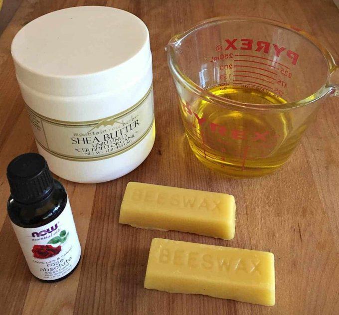 lotion bar ingredients
