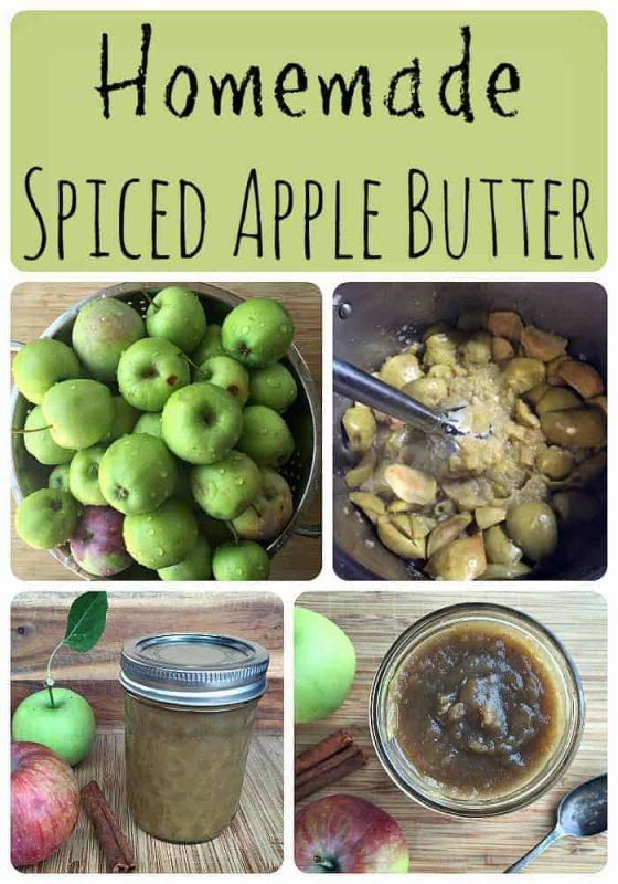 Homemade Spiced Apple Butter