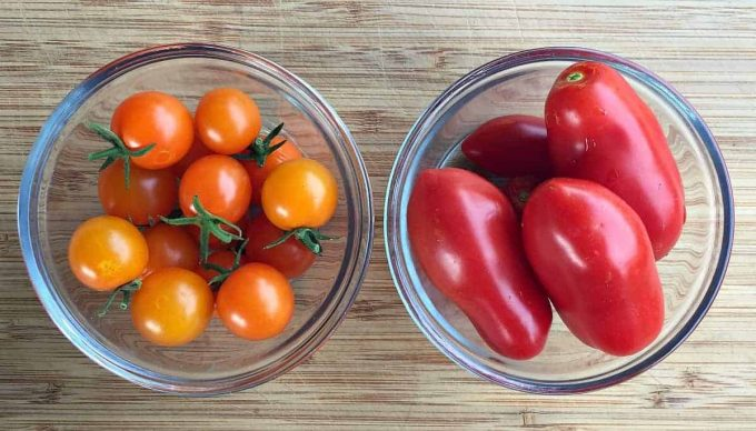 how to get seeds out of cherry tomatoes