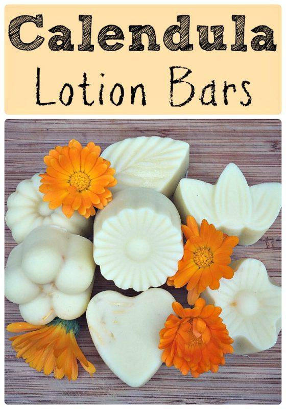 how-to-make-calendula-lotion-bars