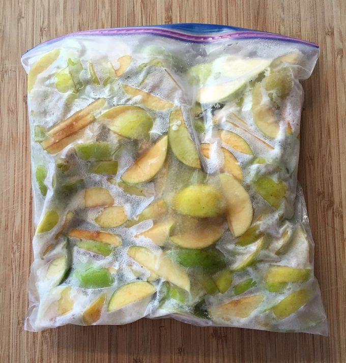 frozen-apples