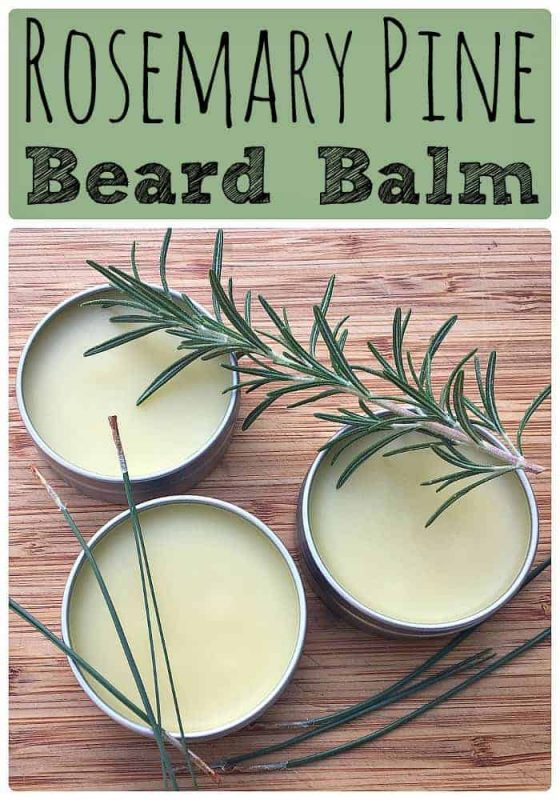 homemade-rosemary-pine-beard-balm