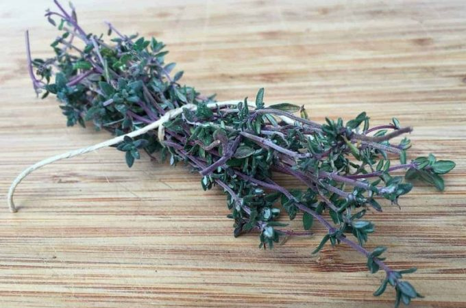 The Benefits of Thyme