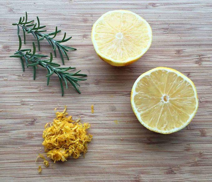 Lemon rosemary cookie recipes
