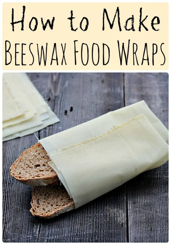 Recipe Beeswax Food Wraps