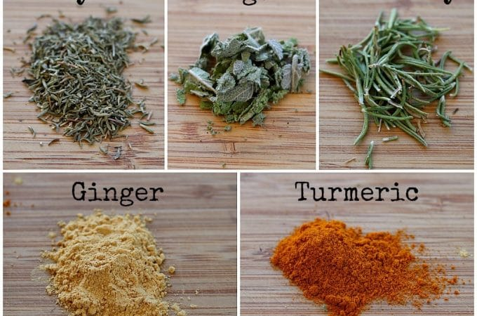 5 Medicinal Herbs in Your Spice Rack